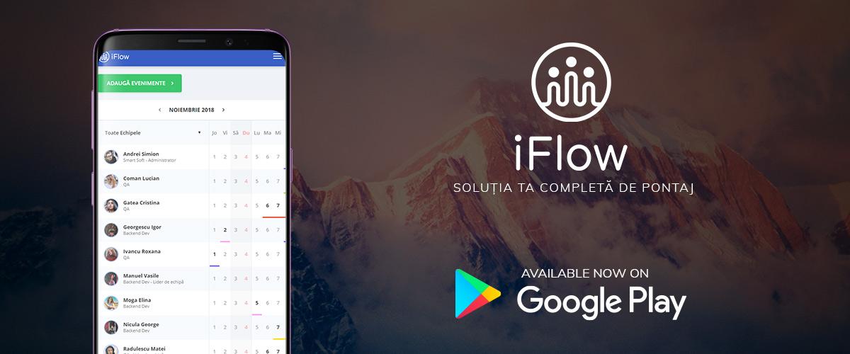 Pontaj Online iFlow Google Play